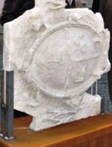 Brasão/Pedra de Armas de D. Frei José da Soledade